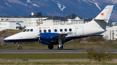 A picture of TFORC - BAe Jetstream 32 - Eagle Air Iceland - © Fabian Zimmerli