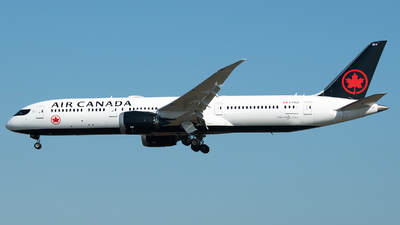 A picture of CFVLU - Boeing 7879 Dreamliner - Air Canada - © Stefan Bayer