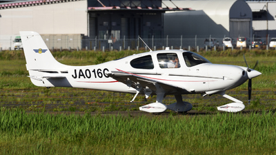 JA016C - Cirrus SR22 - Japan - Civil Aviation College