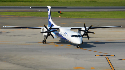 JA848A - Bombardier Dash 8-Q402 - ANA Wings