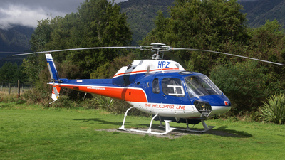 ZK-HPZ - Aérospatiale AS 355F1 Ecureuil 2 - The Helicopter Line
