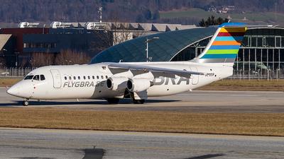 SE-DSP - British Aerospace Avro RJ100 - Braathens Regional
