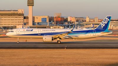 A picture of JA144A - Airbus A321272N - All Nippon Airways - © Tsumugu Ono