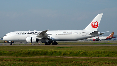 JA869J - Boeing 787-9 Dreamliner - Japan Airlines (JAL)
