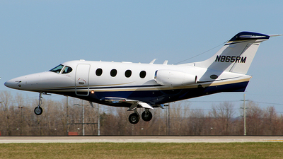 N865RM - Hawker Beechcraft 390 Premier IA - Private