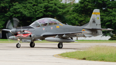 FAC3104 - Embraer A-29B Super Tucano - Colombia - Air Force