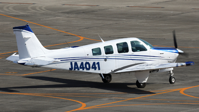 JA4041 - Beechcraft A36 Bonanza - Private