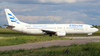 LY-CGC - Boeing 737-4Y0 - Ellinair (Grand Cru Airlines)
