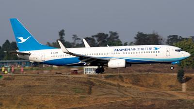 A picture of B5388 - Boeing 73786N - Xiamen Air - © baobao723