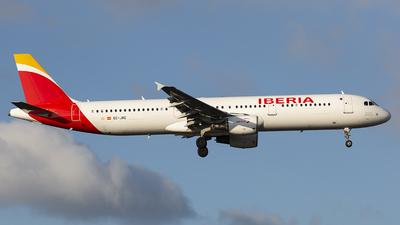 EC-JRE - Airbus A321-212 - Iberia