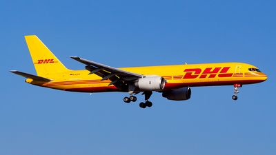 A picture of DALEW - Boeing 757236(SF) - DHL - © Alexander Nieder