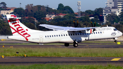 A picture of VHFVQ - ATR 72600 - Virgin Australia - © Robbie Mathieson