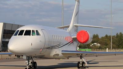 G-LATE - Dassault Falcon 2000EX - Hangar 8