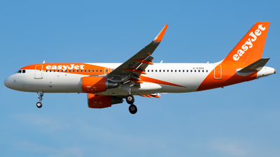 A picture of GEZGX - Airbus A320214 - easyJet - © Marcello Galzignato - Tuscan Aviation