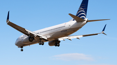 HP-1714CMP - Boeing 737-8V3 - Copa Airlines