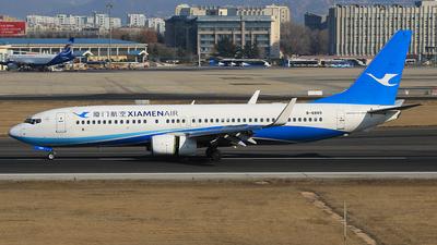 A picture of B6889 - Boeing 7378MB - Xiamen Air - © SEN BAI