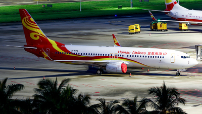 A picture of B7175 - Boeing 73786N - Hainan Airlines - © w9r