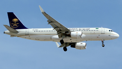 A picture of HZAS63 - Airbus A320214 - Saudia - © M. Azizul Islam