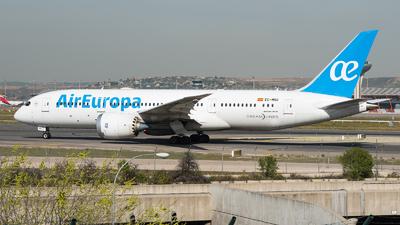 A picture of ECMNS - Boeing 7878 Dreamliner - Air Europa - © Tolga Kabakci