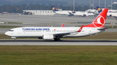 TC-JGL - Boeing 737-8F2 - Turkish Airlines