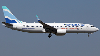 CS-TQU - Boeing 737-8K2 - EuroAtlantic Airways