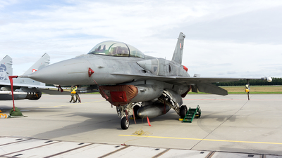 4079 - Lockheed Martin F-16D Fighting Falcon - Poland - Air Force