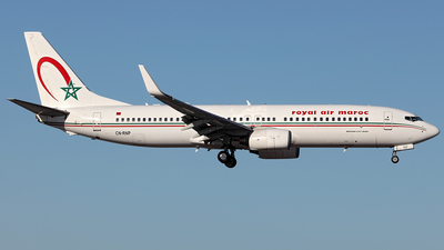 A picture of CNRNP - Boeing 7378B6 - Royal Air Maroc - © Tombarelli Alessandro