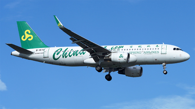 B-1672 - Airbus A320-214 - Spring Airlines