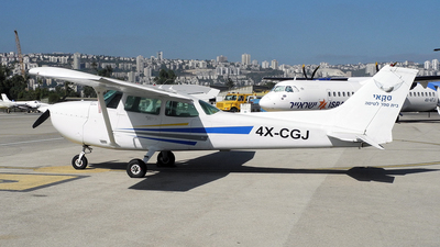 4X-CGJ - Cessna 172M Skyhawk - Sky Aviation