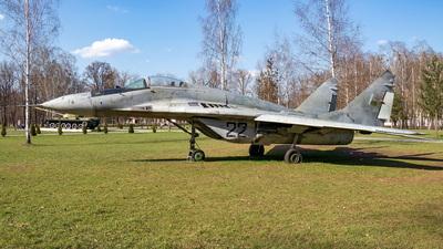 22 - Mikoyan-Gurevich MiG-29 Fulcrum - Belarus - Air Force