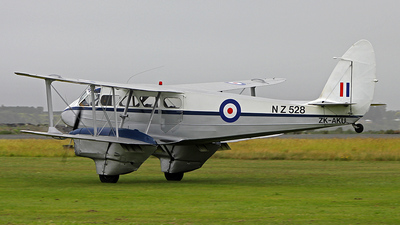 ZK-AKU - De Havilland DH-89A Dragon Rapide - Private