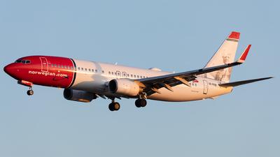 A picture of SERRB - Boeing 7378JP - Norwegian - © Łukasz Stawiarz