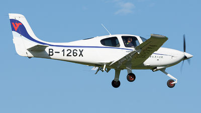 B-126X - Cirrus SR20-G6 - Civil Aviation Flight University of China