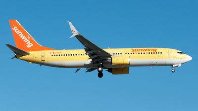 C-FTUA - Boeing 737-8K5 - Sunwing Airlines