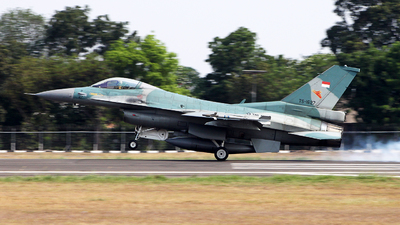 TS-1627 - Lockheed Martin F-16C Fighting Falcon - Indonesia - Air Force
