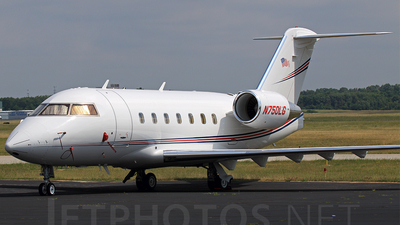 N750LG - Bombardier CL-600-2B16 Challenger 601-3R - Private