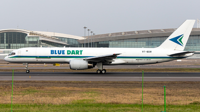 A picture of VTBDM - Boeing 75723N(PCF) - Blue Dart Aviation - © FIWH