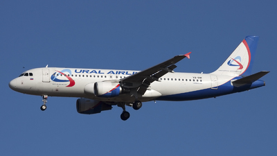 A picture of VQBNI - Airbus A320214 - Ural Airlines - © if