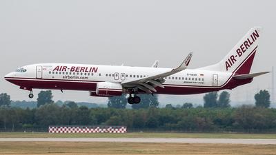 D-ABAR - Boeing 737-86J - Air Berlin