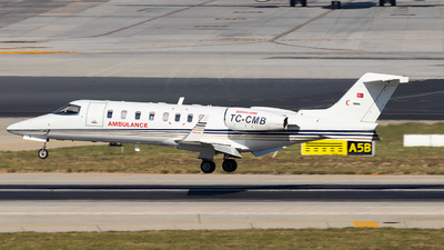 TC-CMB - Bombardier Learjet 45 - Redstar Aviation