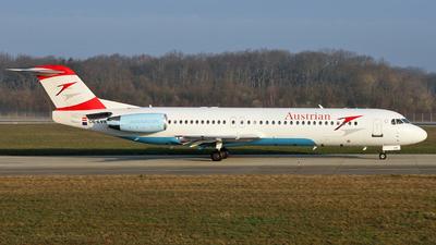 OE-LVK - Fokker 100 - Austrian Arrows