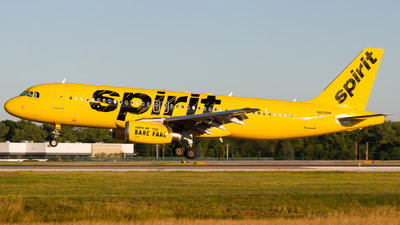 N605NK - Airbus A320-232 - Spirit Airlines