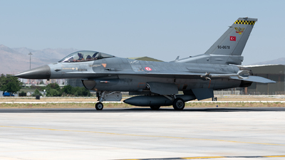 93-0678 - Lockheed Martin F-16CJ Fighting Falcon - Turkey - Air Force
