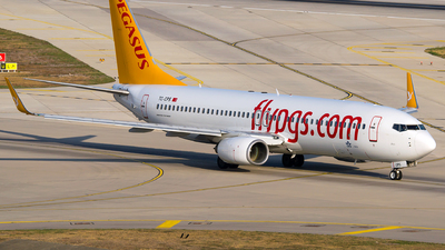 A picture of TCCPS - Boeing 7378GJ - Pegasus Airlines - © Turkay Oksuz