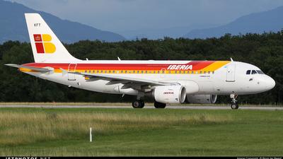 EC-KFT - Airbus A319-111 - Iberia