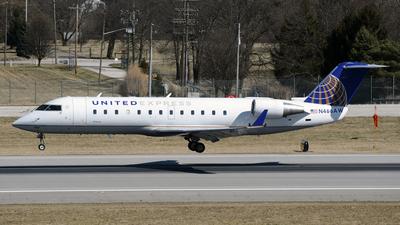 N466AW - Bombardier CRJ-200LR - United Express (Air Wisconsin)