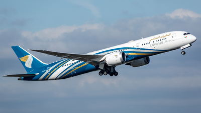 A picture of A4OSF - Boeing 7879 Dreamliner - Oman Air - © Leo Sheng