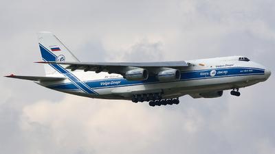 A picture of RA82043 - Antonov An124100 Ruslan - VolgaDnepr Airlines - © Michael Tang