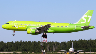 A picture of VPBCP - Airbus A320214 - S7 Airlines - © Vitaly Revyakin