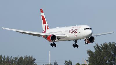 C-GEOU - Boeing 767-375(ER) - Air Canada Rouge